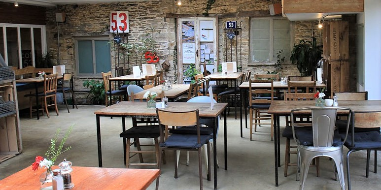 cafe 53 a great cafe with interiors to die for in the Cotswolds cool hub of Tetbury.