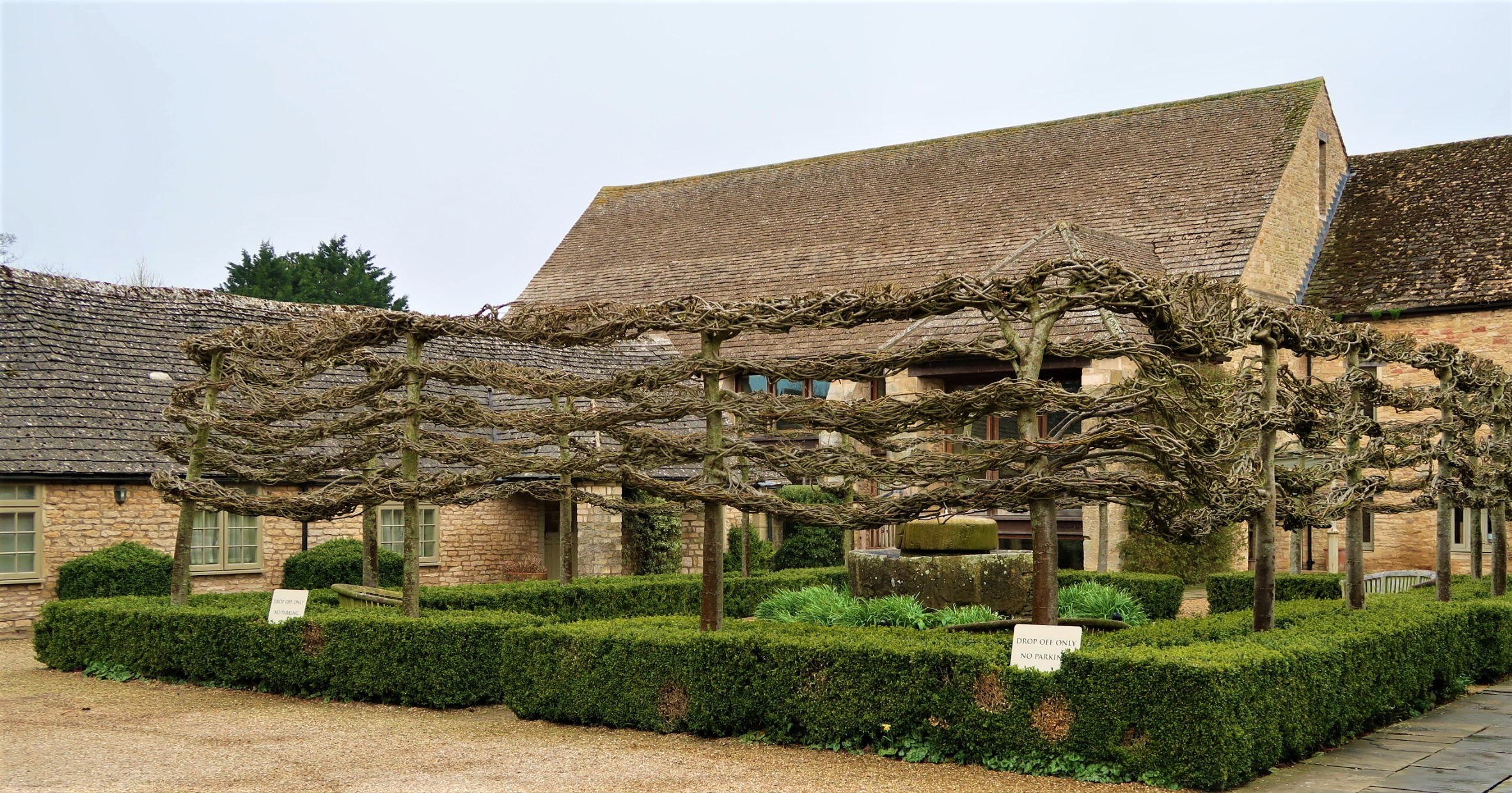 Calcot  Manor hotel exterior. HOtel has gorgeous gardens and  a spa too. great for a staycation.