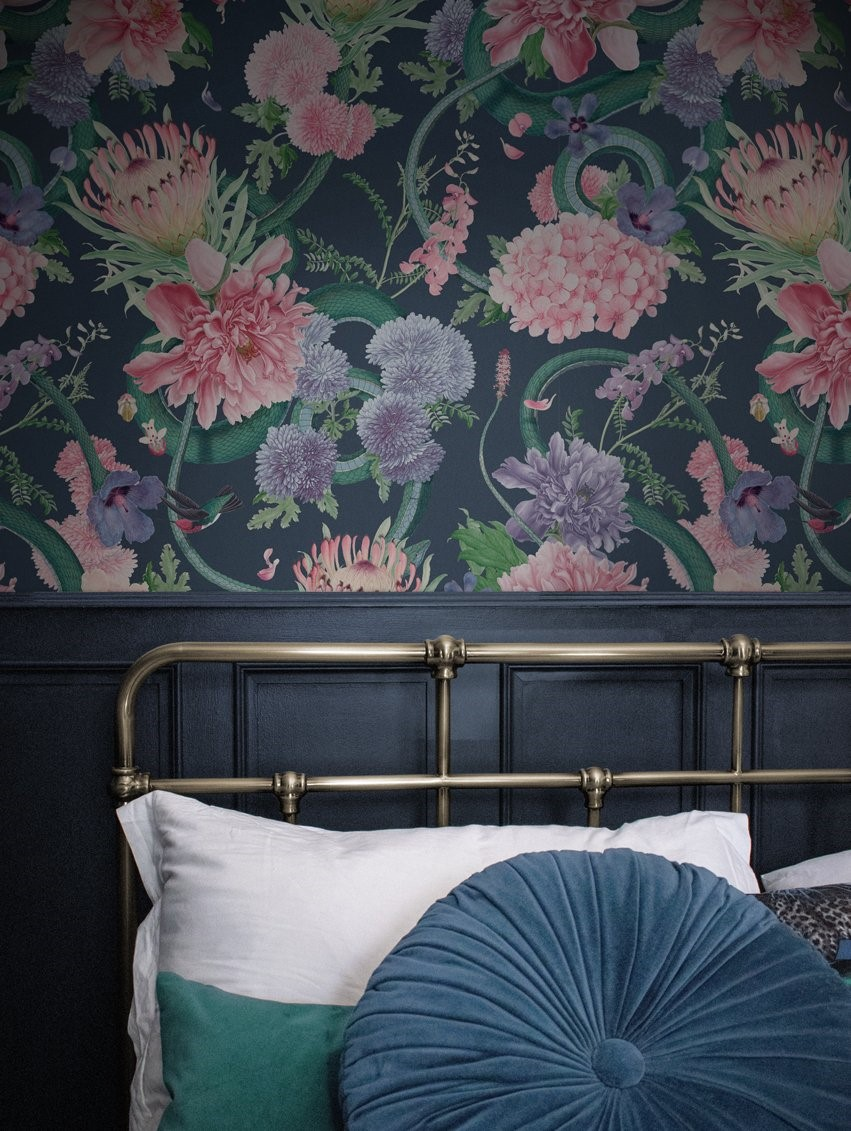 5 best floral wallpapers – bring the hotel-look home